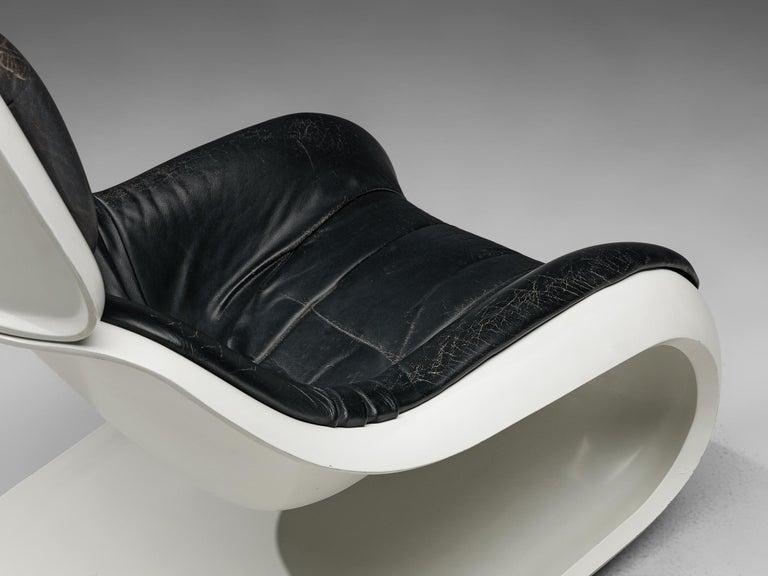 Plastic Klaus Uredat Sculptural 'Targa' Lounge Chair For Sale
