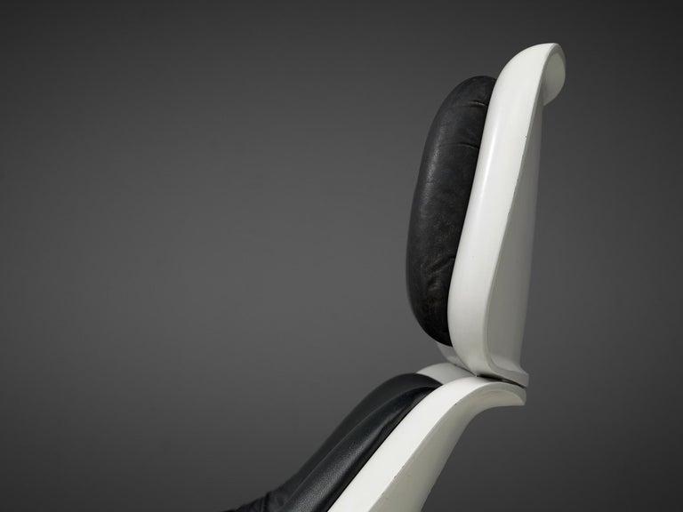 Klaus Uredat Sculptural 'Targa' Lounge Chair For Sale 1