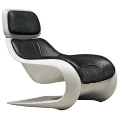 Klaus Uredat Sculptural 'Targa' Lounge Chair