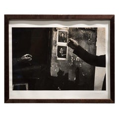 Klavdij Sluban Late 20th Century Rectangular Black and White French Photo, 1998