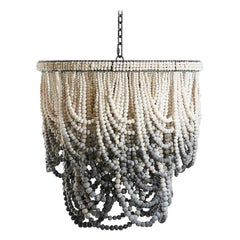 Klaylife Romantic Swag, Large, Ombre Handmade Clay Bead Chandelier, 21st Century