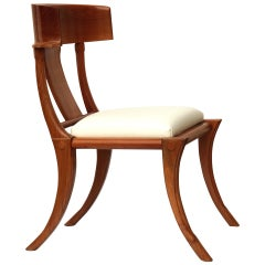 Klismos Chair, Italian Walnut