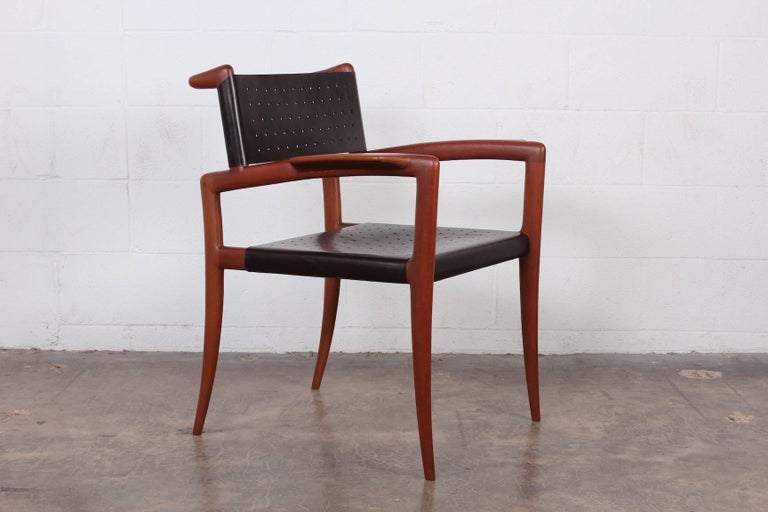 Klismos Chairs by Charles Allen In Good Condition For Sale In Dallas, TX