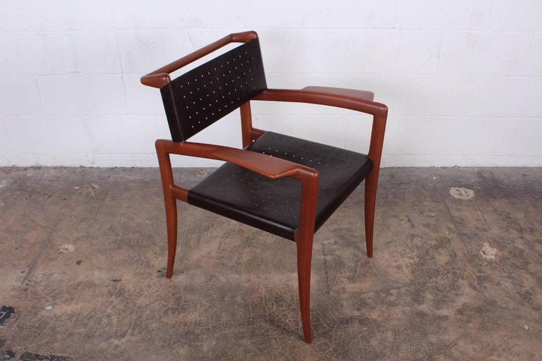 Mid-20th Century Klismos Chairs by Charles Allen For Sale