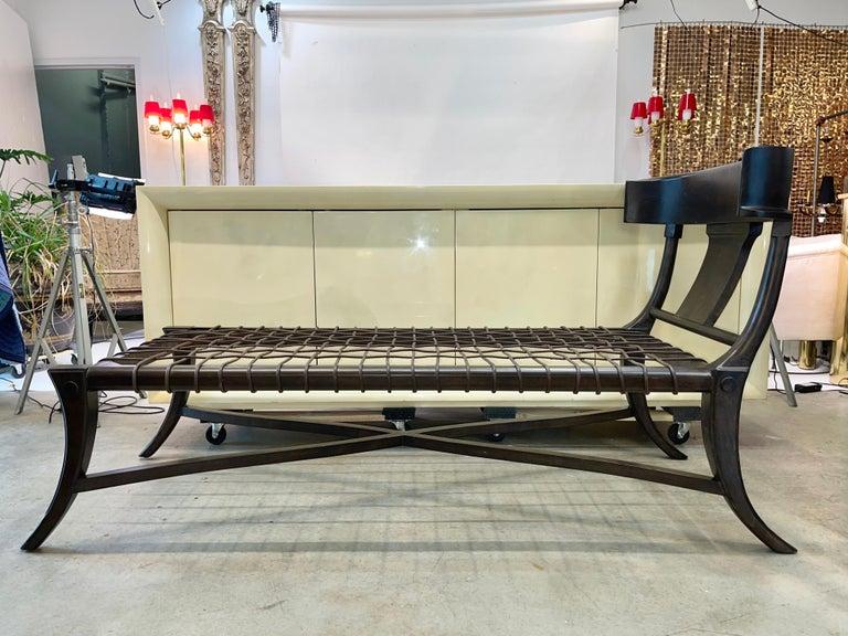 Klismos Chaise For Sale 3