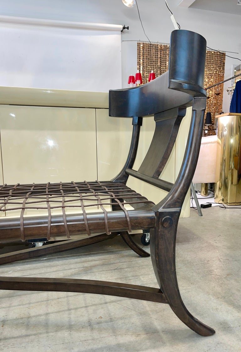 Klismos Chaise For Sale 4