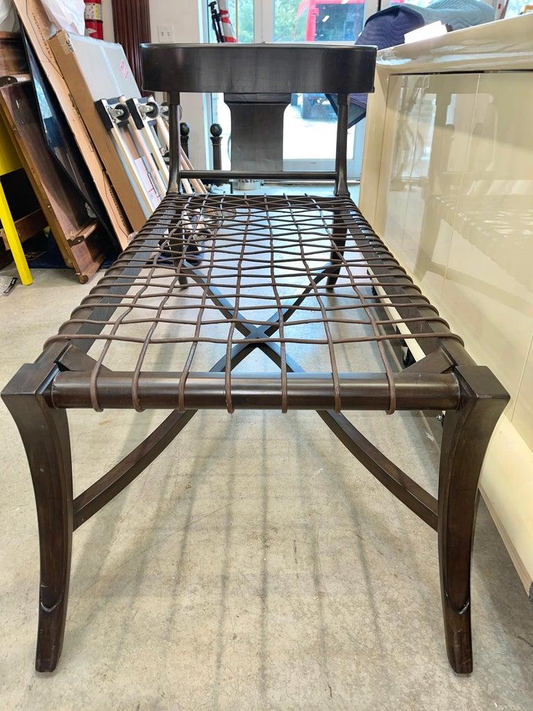 Klismos Chaise For Sale 1