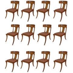 Animal Skin Dining Room Chairs