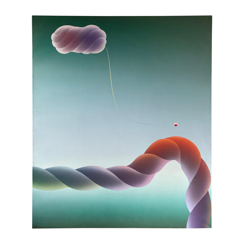 Stefan Knapp Grand Composition Oil Painting