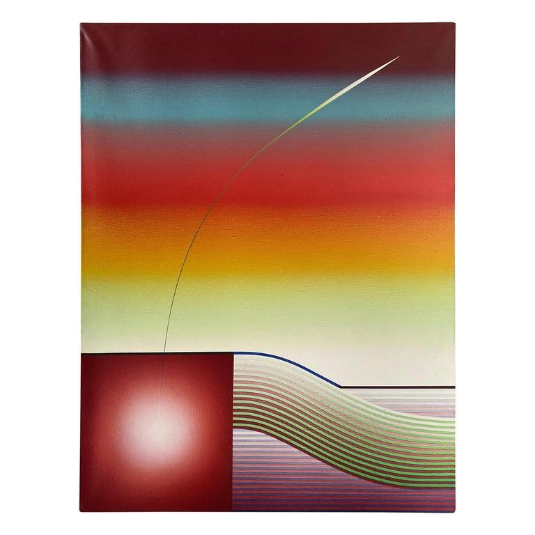 Stefan Knapp Oil on Canvas Painting For Sale