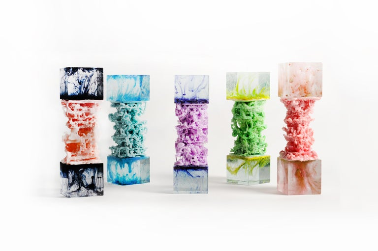 Contemporary Glass vs. Plastic collection,