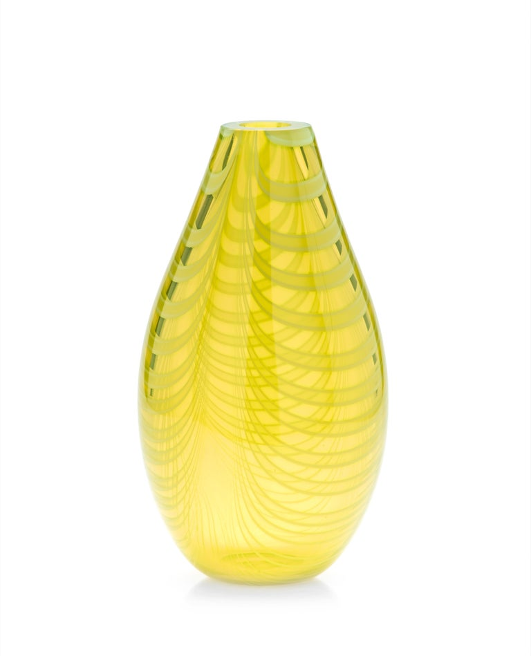 21st century Karim Rashid Knight vase Murano glass various colors.