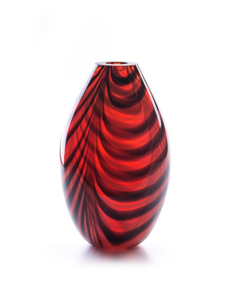 Modern 21st Century Karim Rashid Vase Murano Glass Various Colors For Sale