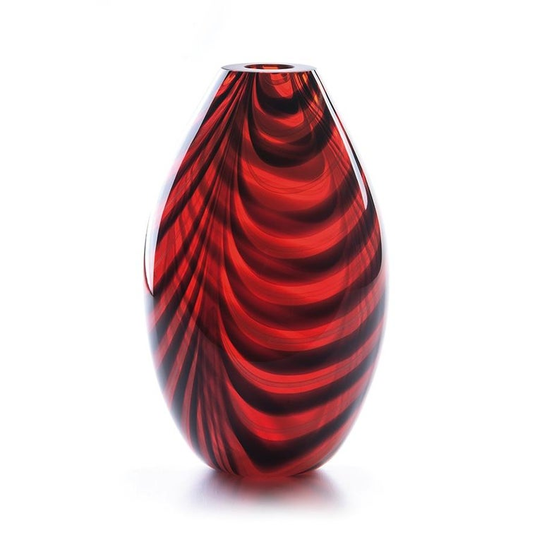 Italian 21st Century Karim Rashid Vase Murano Glass Various Colors For Sale