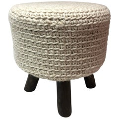 Knitted Stool with