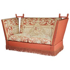 Knole, Settee, Sofa, Aubusson, Tapestry, Wool, 3-Seat, Country House, Victorian