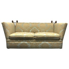 Knole Sofa with Custom Upholstery