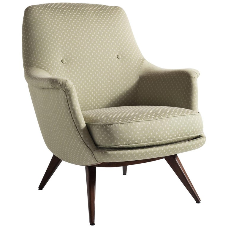 Knoll Armchair by K. Antimott, Germany, circa 1950 For Sale