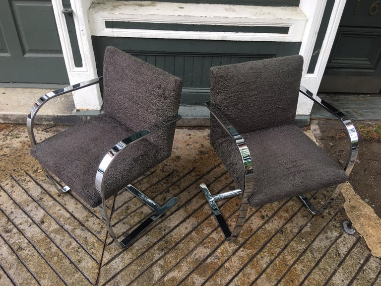 Knoll Brno Chairs by Mies Van der Rohe For Sale 3