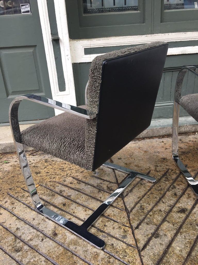 American Knoll Brno Chairs by Mies Van der Rohe For Sale