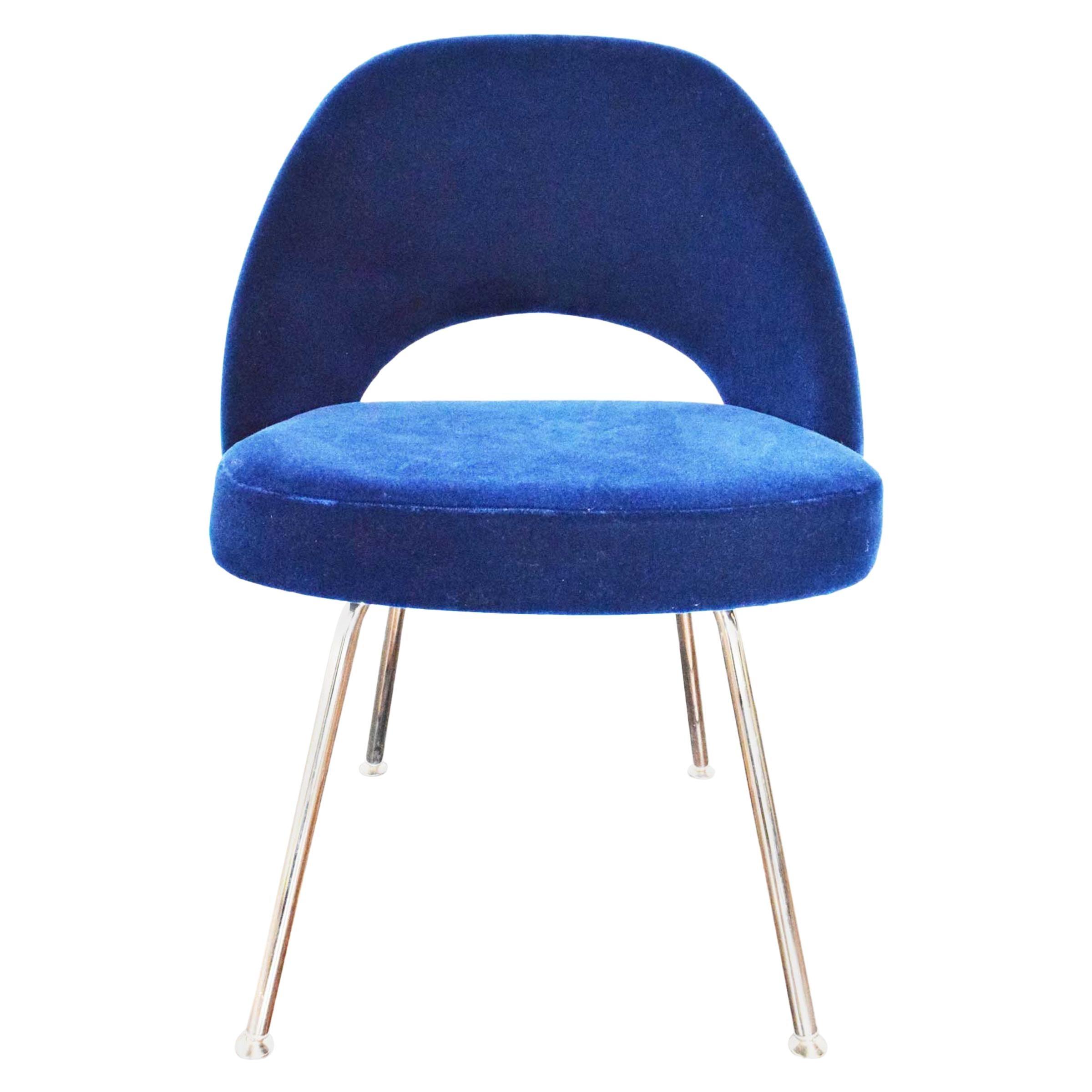 Knoll Eero Saarinen Armless Executive Chair, 5 Available in Mohair