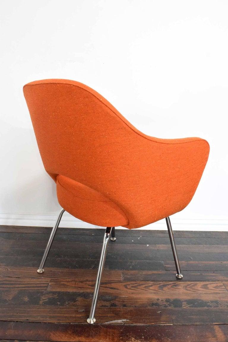 Knoll Eero Saarinen Executive Armchair In Excellent Condition For Sale In Dallas, TX