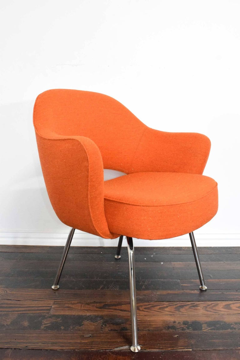 20th Century Knoll Eero Saarinen Executive Armchair For Sale