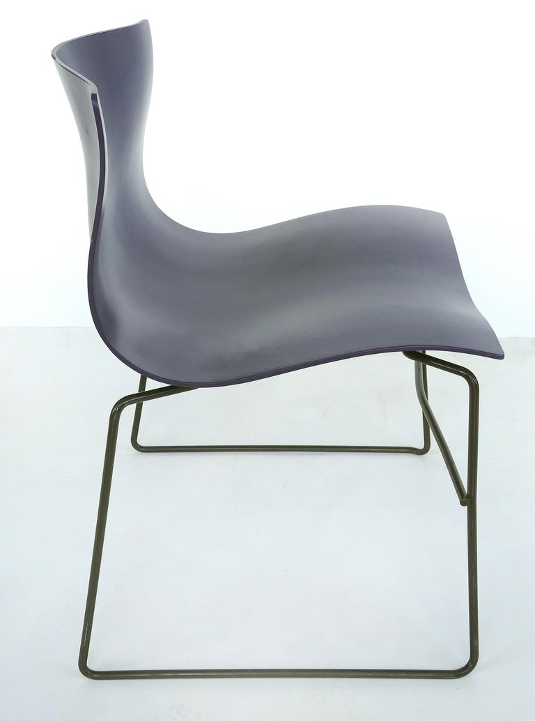 Modern Knoll Ergonomic Handkerchief Chairs by Massimo and Lelia Vignelli, circa 1980s For Sale