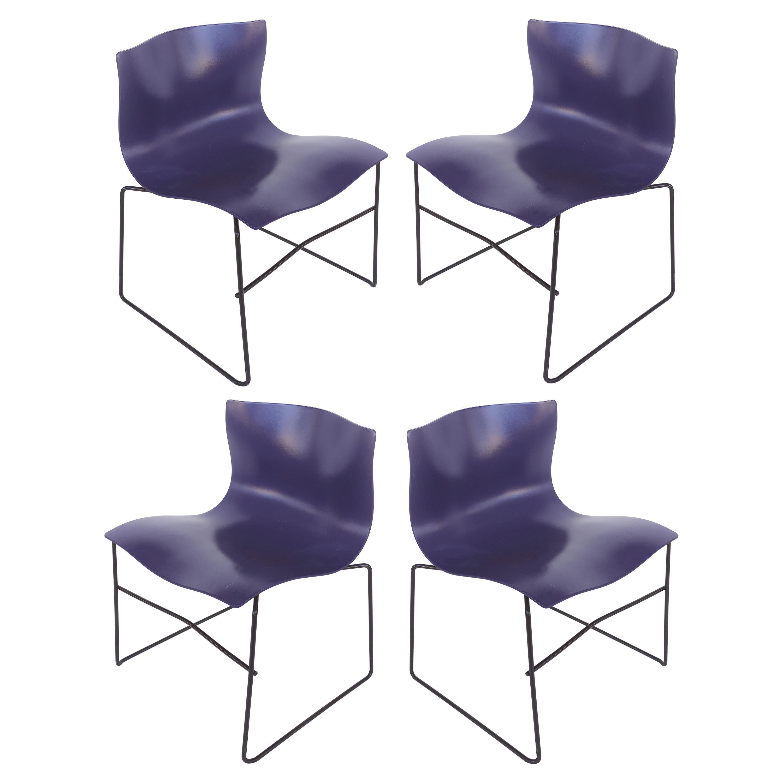 Knoll Ergonomic Handkerchief Chairs by Massimo and Lelia Vignelli, circa 1980s