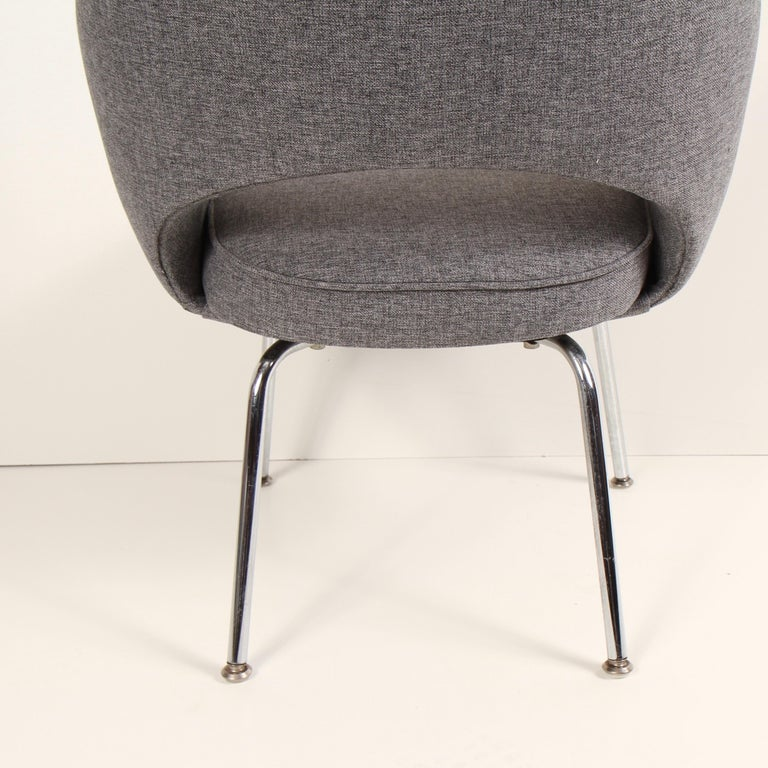 Knoll Executive Armchair by Eero Saarinen In Good Condition For Sale In New London, CT