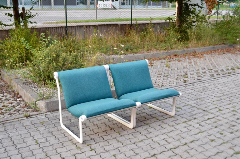 Knoll International Sling Lounge Chair by Hannah Morrison Set of 2 In Good Condition For Sale In Munich, Bavaria