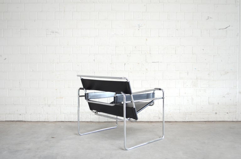 Knoll International Wassily Chair by Marcel Breuer For Sale 3