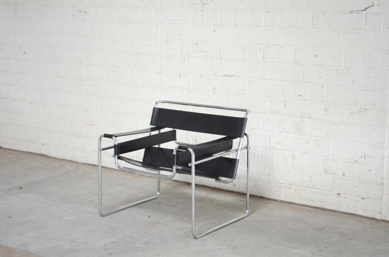 American Knoll International Wassily Chair by Marcel Breuer For Sale