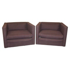 Knoll Lounge Chairs by Charles Pfister
