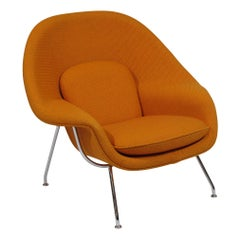 Knoll Medium Womb Chair in Orange Cato