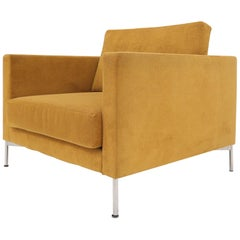 Knoll Mid-Century Modern Box Shape Lounge Chair