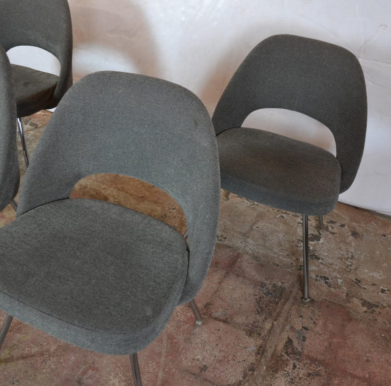 American Knoll Saarinen Chairs For Sale