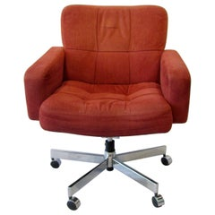 Knoll Style Swivel and Tilt Desk Chair on Casters by Fortress California