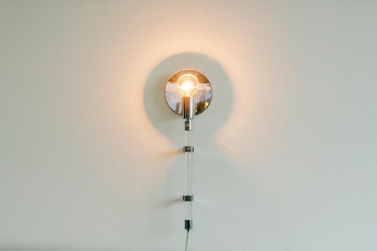 Mid-Century Modern Knoll Wall Sconce For Sale
