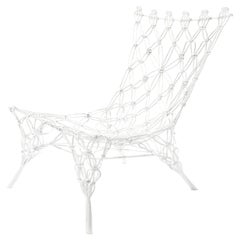 Knotted Chair, White, by Marcel Wanders, Hand-Knotted Chair, 2007, Unique