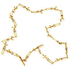 Knotty Link Gold Chain