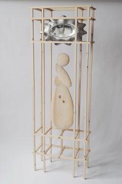 Knotty Pine Mirror by Soren Ferguson