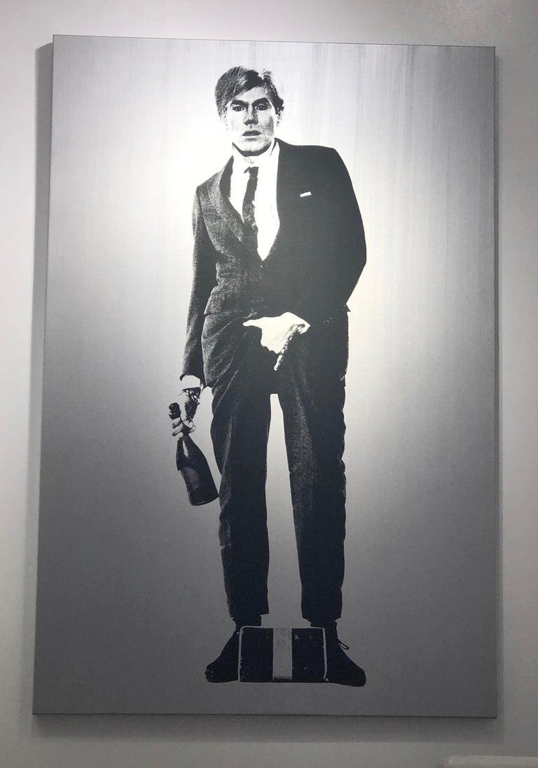 Cojones- Warhol - Mixed Media Art by Knowledge Bennett