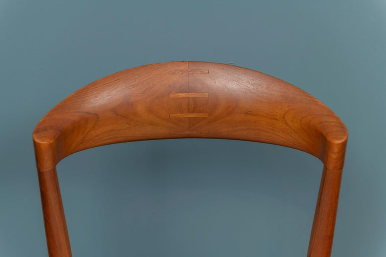 Scandinavian Modern Knud Andersen Danish Dining Chairs For Sale