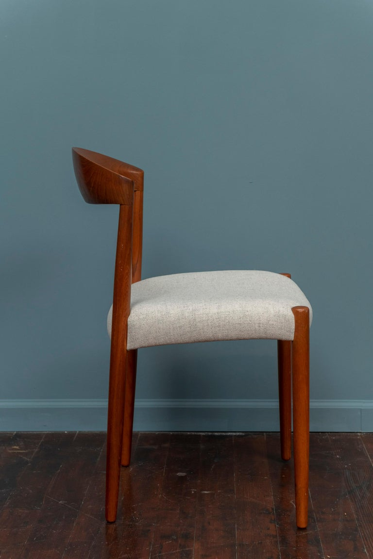 Mid-20th Century Knud Andersen Danish Dining Chairs For Sale