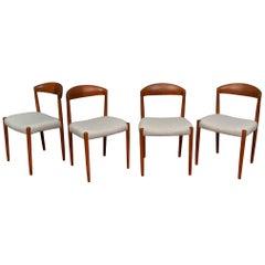 Knud Andersen Danish Dining Chairs
