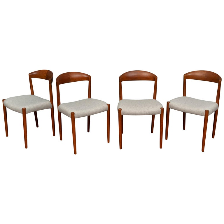 Knud Andersen Danish Dining Chairs For Sale