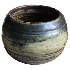 Knud Kyhn, Bowl, Glazed Stoneware, Royal Copenhagen, 1950s