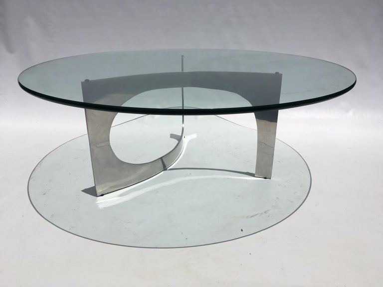 Mid-Century Modern Knut Hesterberg Sculptural Coffee Table For Sale