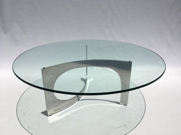 German Knut Hesterberg Sculptural Coffee Table For Sale